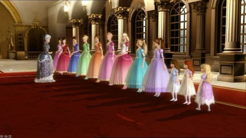 12 танцующих принцесс барби игра скачать.