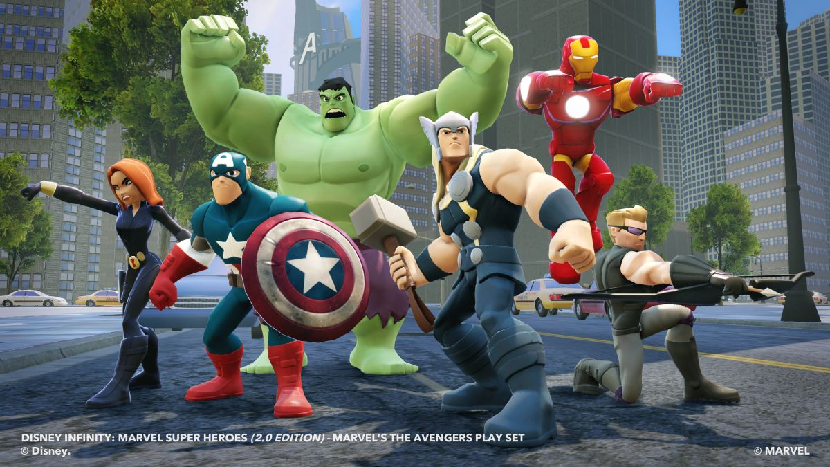 Disney Infinity 2.0: Marvel Super Heroes Скачать бесплатно