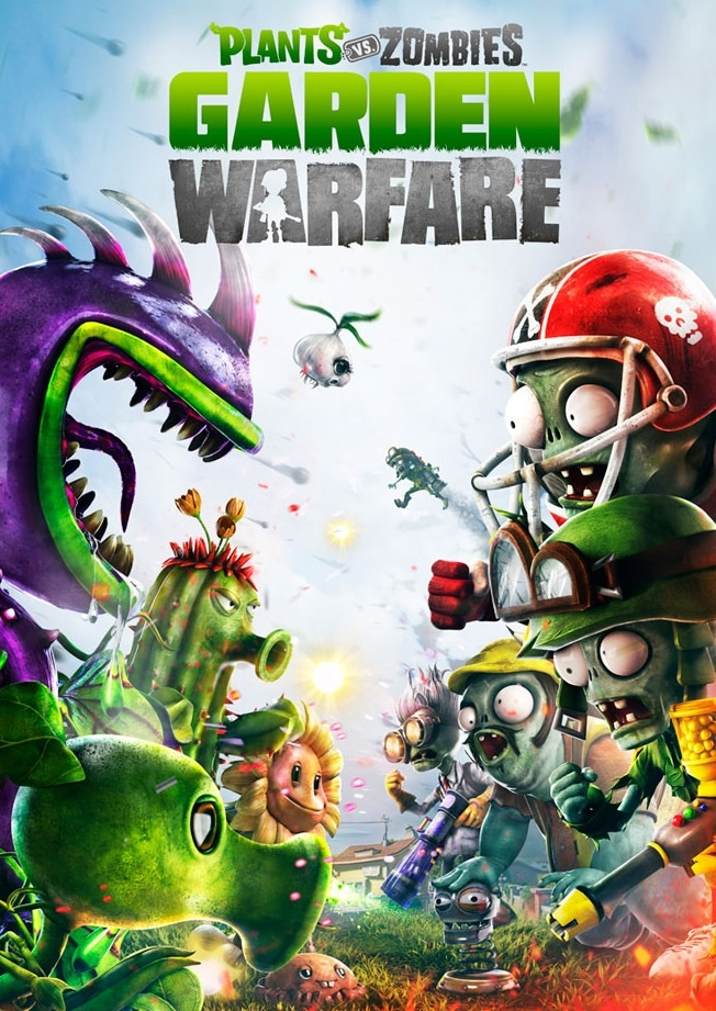 Играть бесплатно Plants vs Zombies Garden Warfare без регистрации