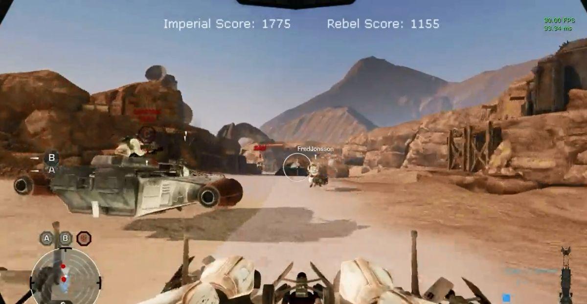 Скачать бесплатно star wars battlefront видео