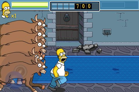 The Simpsons Arcade бесплатно