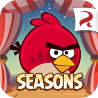 Играть бесплатно Angry Birds Seasons: Water adventures без регистрации