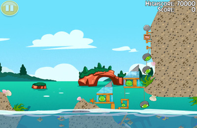 Angry Birds Seasons: Water adventures бесплатно