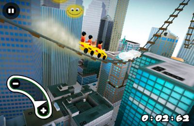 New York 3D Rollercoaster Rush бесплатно